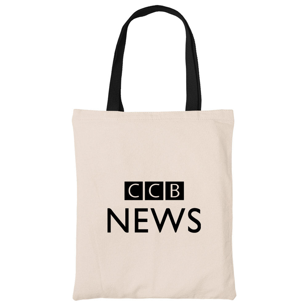CCB News Beech Canvas Tote Bag