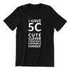 Singapore funny tshirt I have 5C, black by Kaobeiking, Singapore tshirt designer