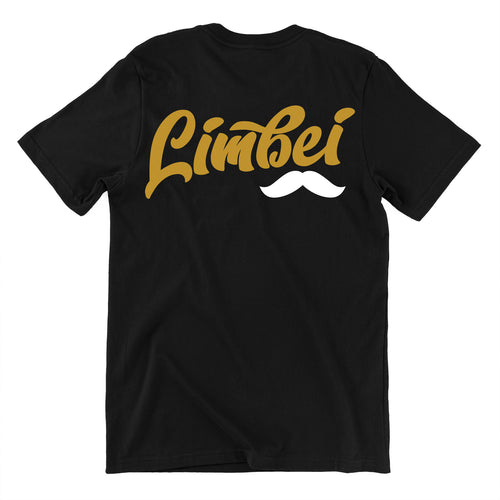 Singapore funny tshirt Limbei mostuach gold edition, black by Kaobeiking, Singapore tshirt designer