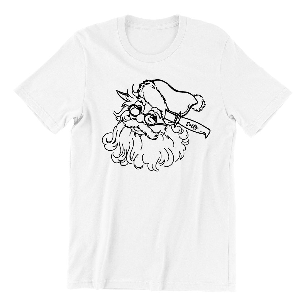 Rather Be Dead - Santa Short Sleeve T-shirt