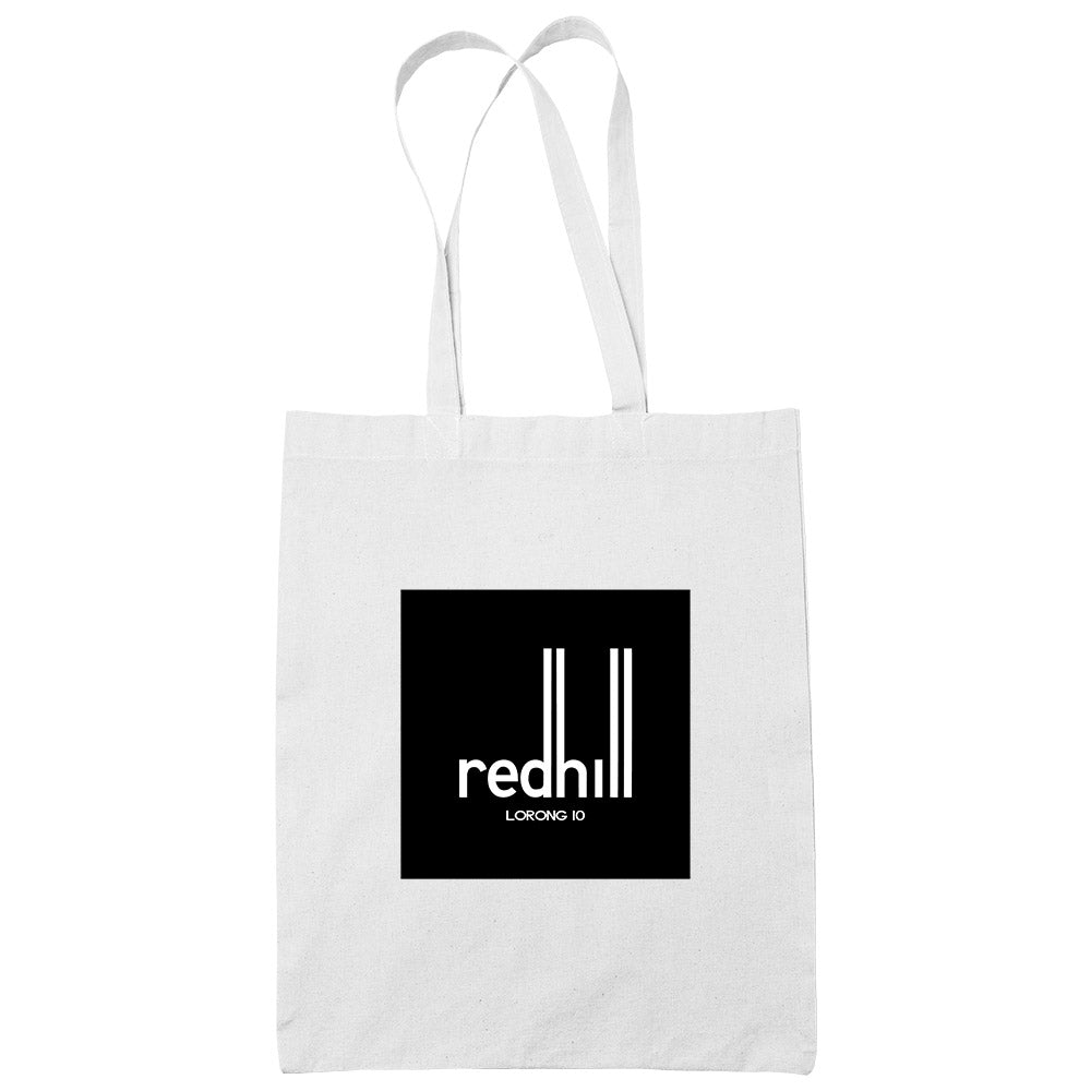 Redhill White Cotton Tote Bag