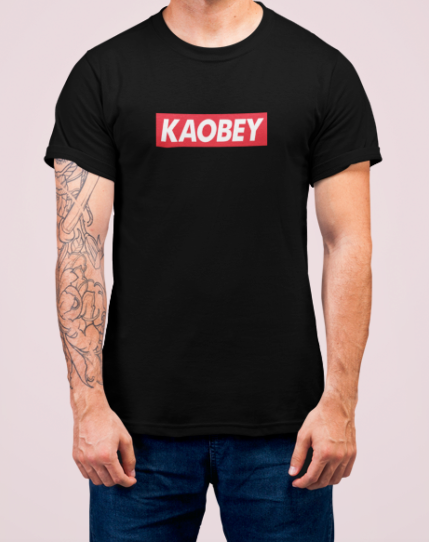 Kaobey Logo Crew Neck S-Sleeve T-shirt