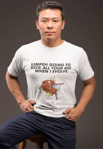 Limpeh is Magikarp Crew Neck S-Sleeve T-shirt