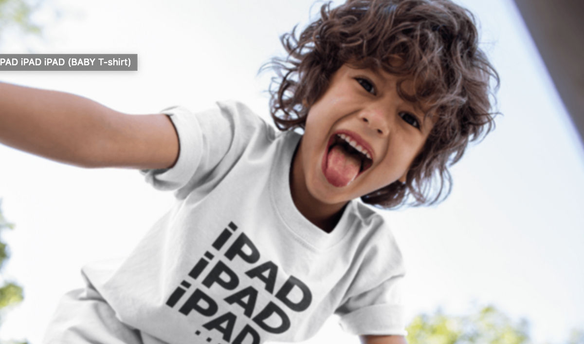 iPAD iPAD iPAD (KIDS' sizes)