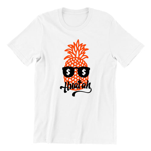 Pineapple Huat Ah Short Sleeve T-shirt