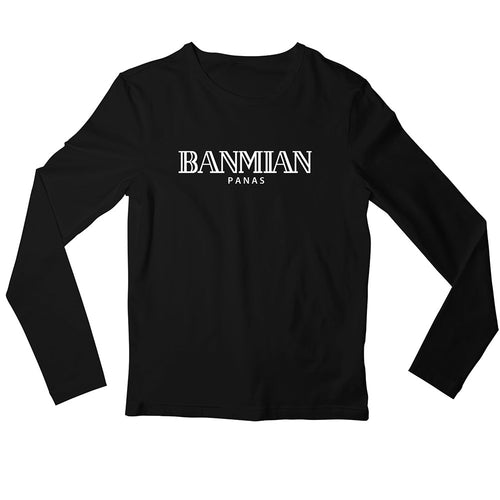 Banmian Crew Neck L-Sleeve T-shirt