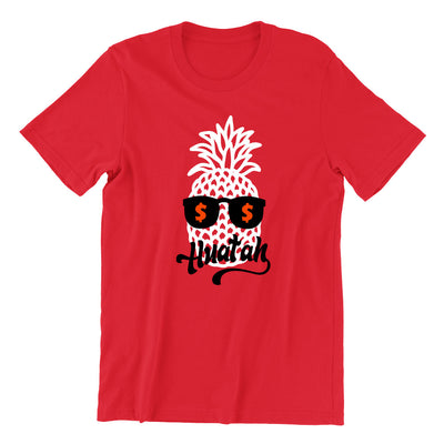Pineapple Huat Kids Crew Neck Short Sleeve T-Shirt