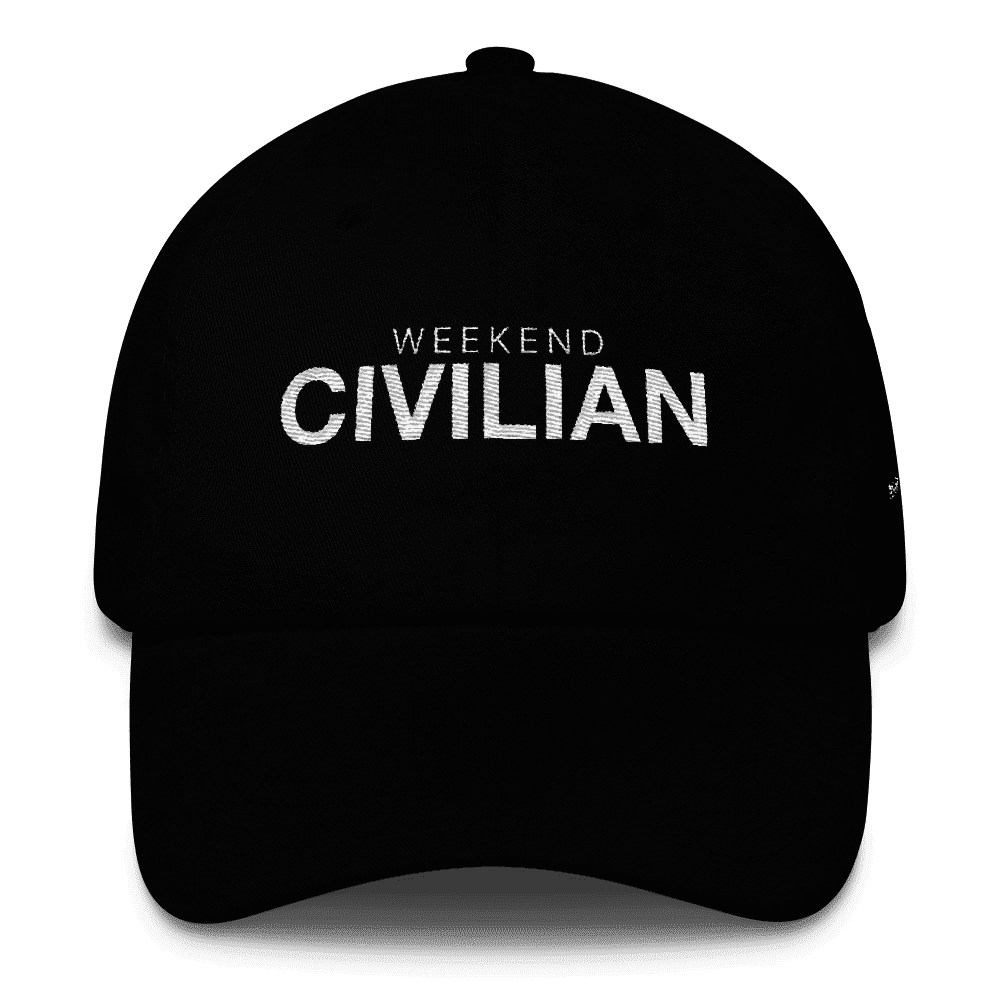 Caps - Weekend Civilian Cap Black
