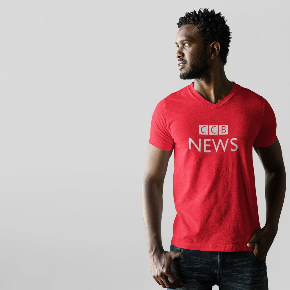 Singapore tshirt CCB News by Kaobeiking, Singapore tshirt designer