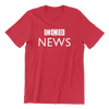 Singapore funny tshirt CCB News, red by Kaobeiking, Singapore tshirt designer