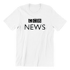 Singapore parody tshirt CCB News, white by Kaobeiking, Singapore tshirt designer