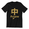 Singapore funny tshirt dio arrow, black by Kaobeiking, Singapore tshirt designer