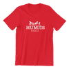 Singapore funny tshirt Humjis, red by Kaobeiking, Singapore tshirt designer