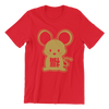Hock Mouse Crew Neck S-Sleeve T-shirt