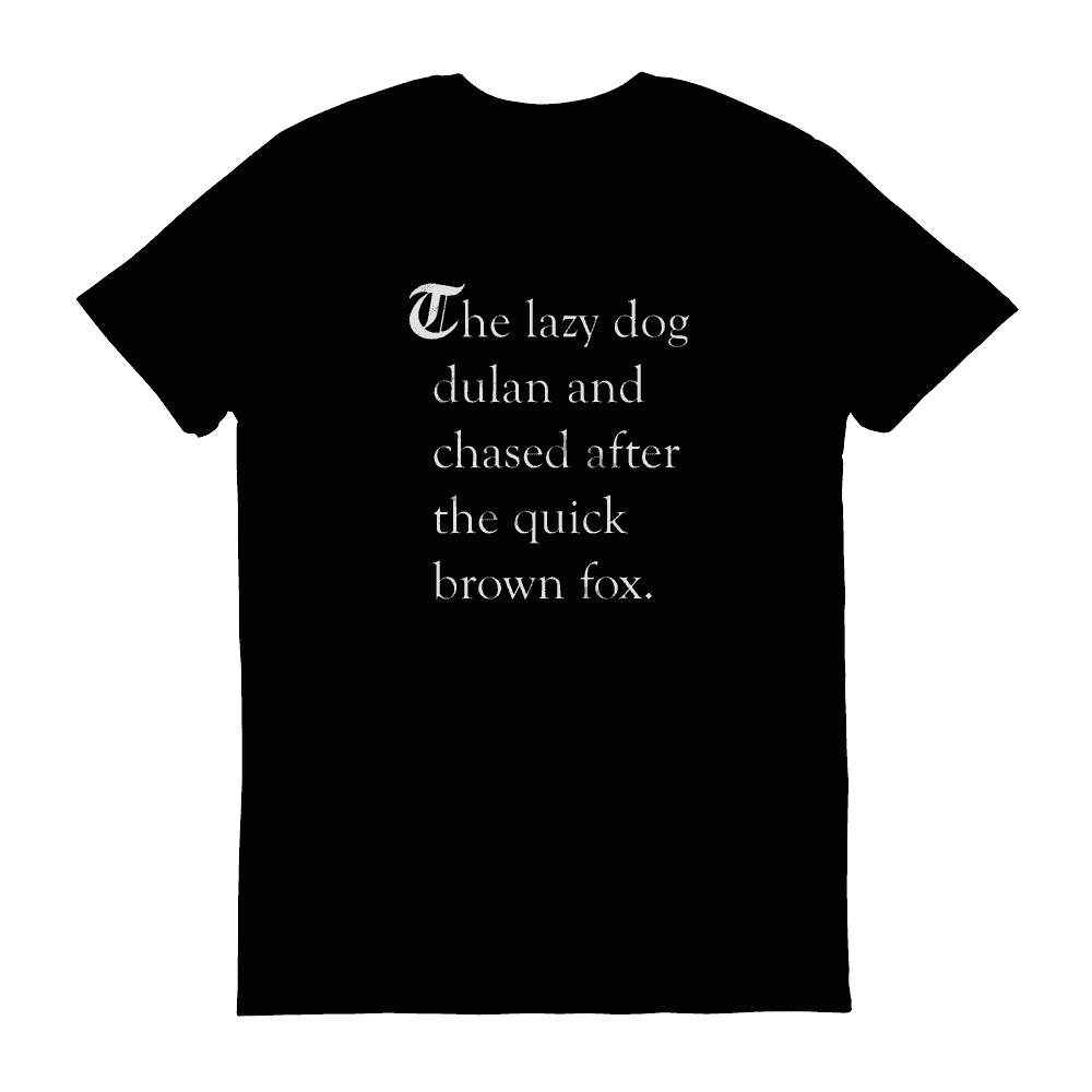 T-shirts - The Lazy Dog