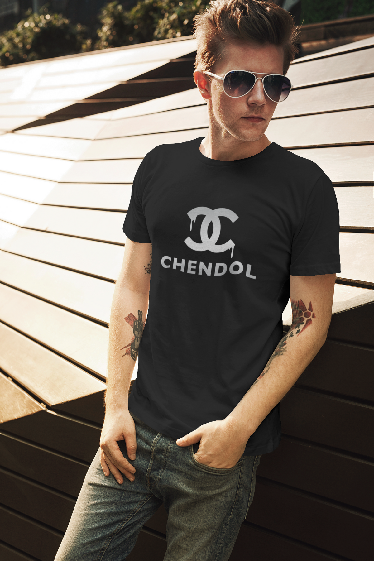 (Limited Silver Edition) Chendol Crew Neck S-Sleeve T-shirt