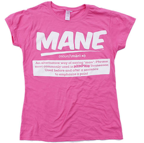 Women's Fitted MANE® Shirts