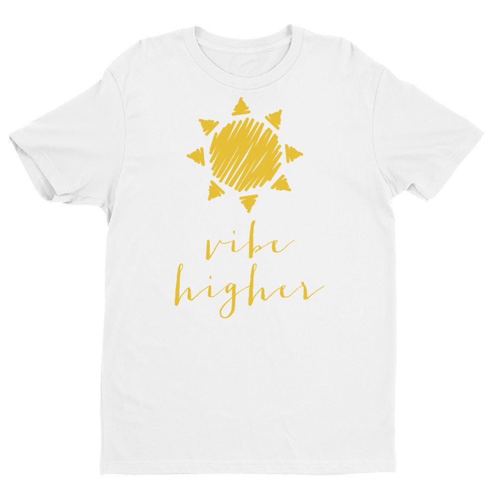 Vibe Higher T-Shirt in Sunday Gold