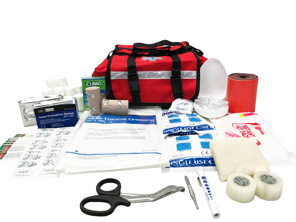 Emergency Medical First Responder First Aid Kit - LINE2EMS - Medical Equipment Kit