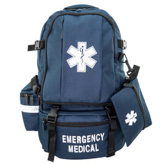 LINE2design Emergency Medical Backpack Trauma First Aid Kit
