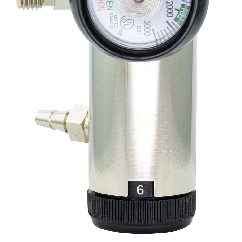 Brass Oxygen Regulator LINE2design and LINE2EMS