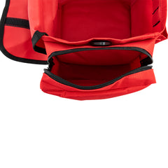 LINE2design Emergency First Aid Responder Kit Medical EMS Economic Fully Stocked Bag For All Emergencies - Red