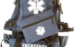 Medical Backpack Trauma First Aid Kit - LINE2EMS - Medical Equipment Kit