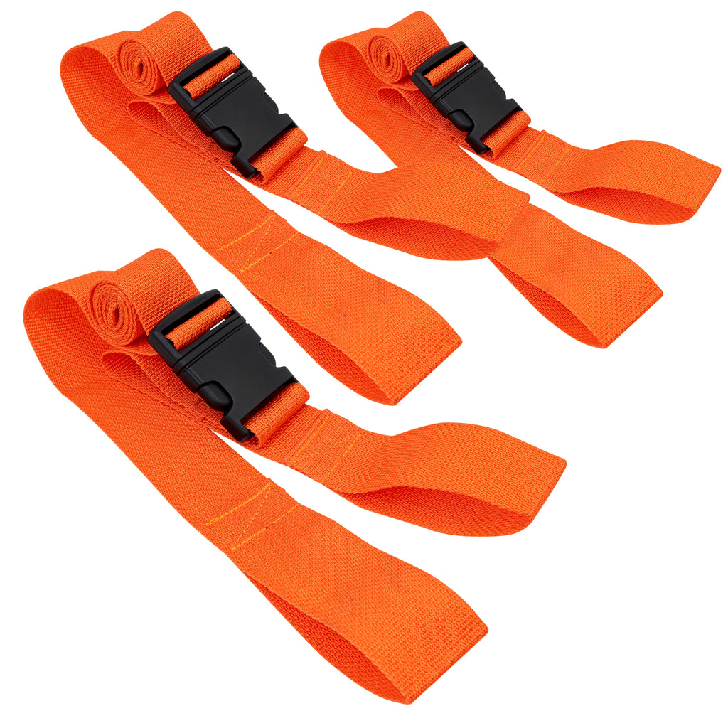 Looped Backboard Straps LINE2design Orange
