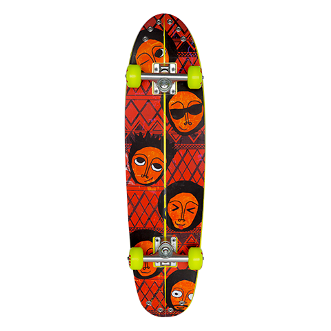 Ethiopia Skate Board Kit (Yellow)