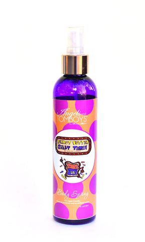 Angels and Tomboys Peanut Butter Jelly Time Body Spray -- no parabens, vegan friendly, made with shea butter