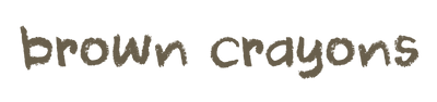 Brown Crayons Logo