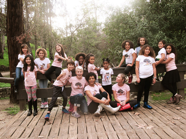 Brown Crayons celebrate brown girls in the park