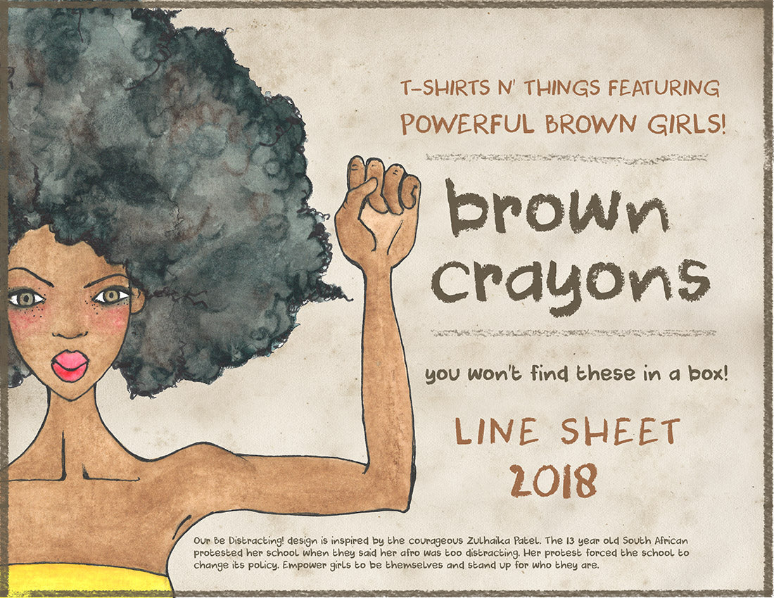 Brown Crayons 2018 Wholesale Line Sheet
