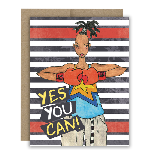 Yes You Can! Notecard