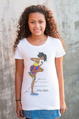 Kids Short Sleeve T-shirt - Booom! Girl