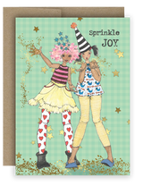 "Notecard 4 x 5.5"" - Sprinkle Joy"