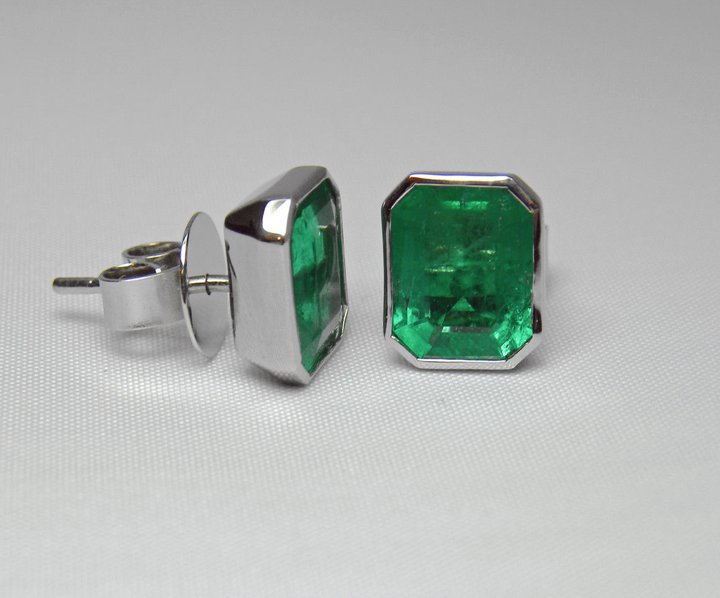 p eternity quality wrg square emerald channel angara yg aaa half band set best in