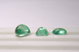 Loose 12.93 Ct Parcel Cabochon-Sugarloaf Natural Colombian Emerald