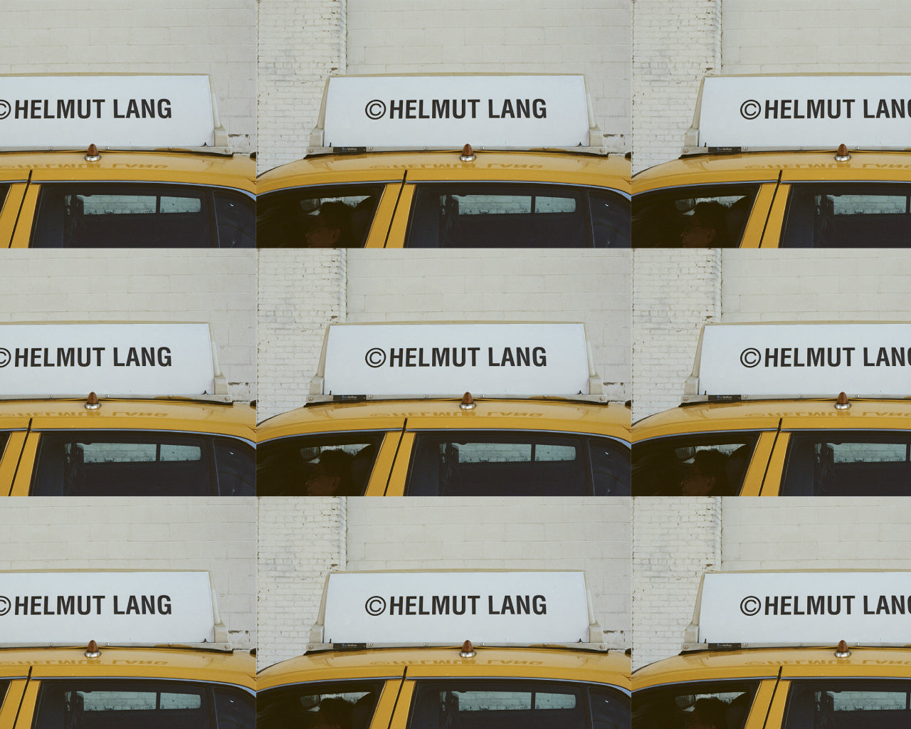 017 Feature | Helmut Lang Taxi