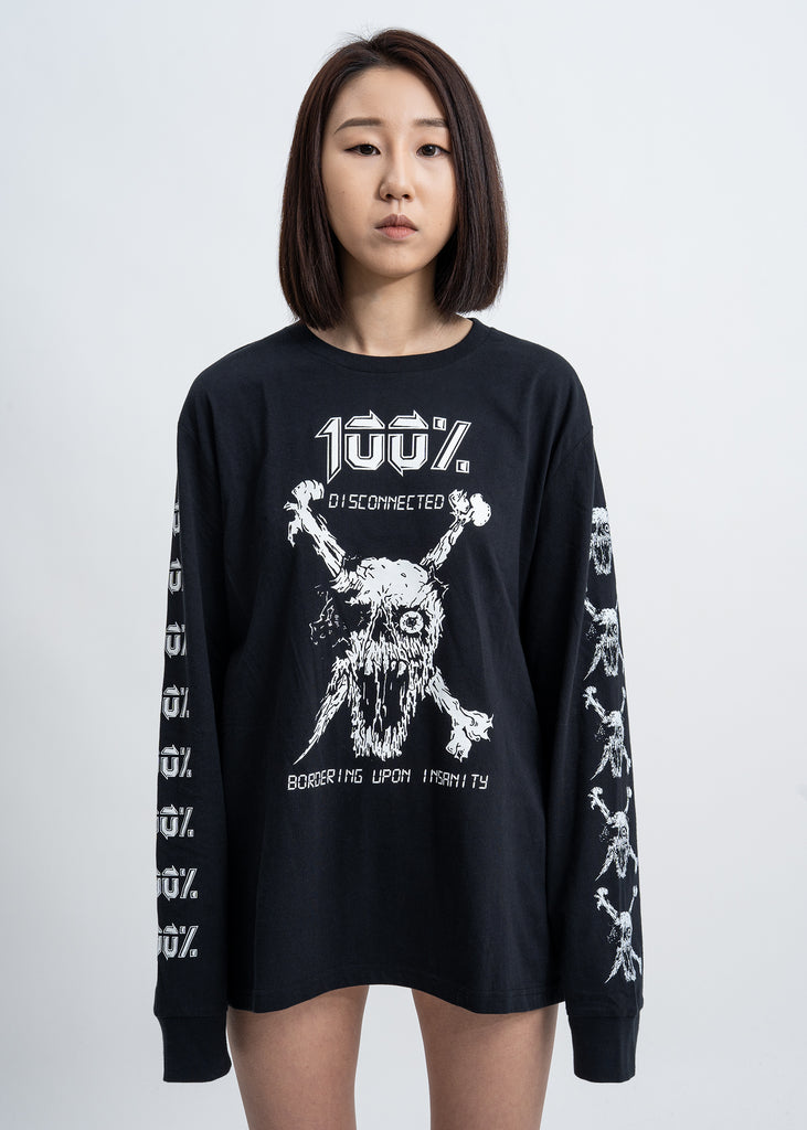 Black 100% Long Sleeves