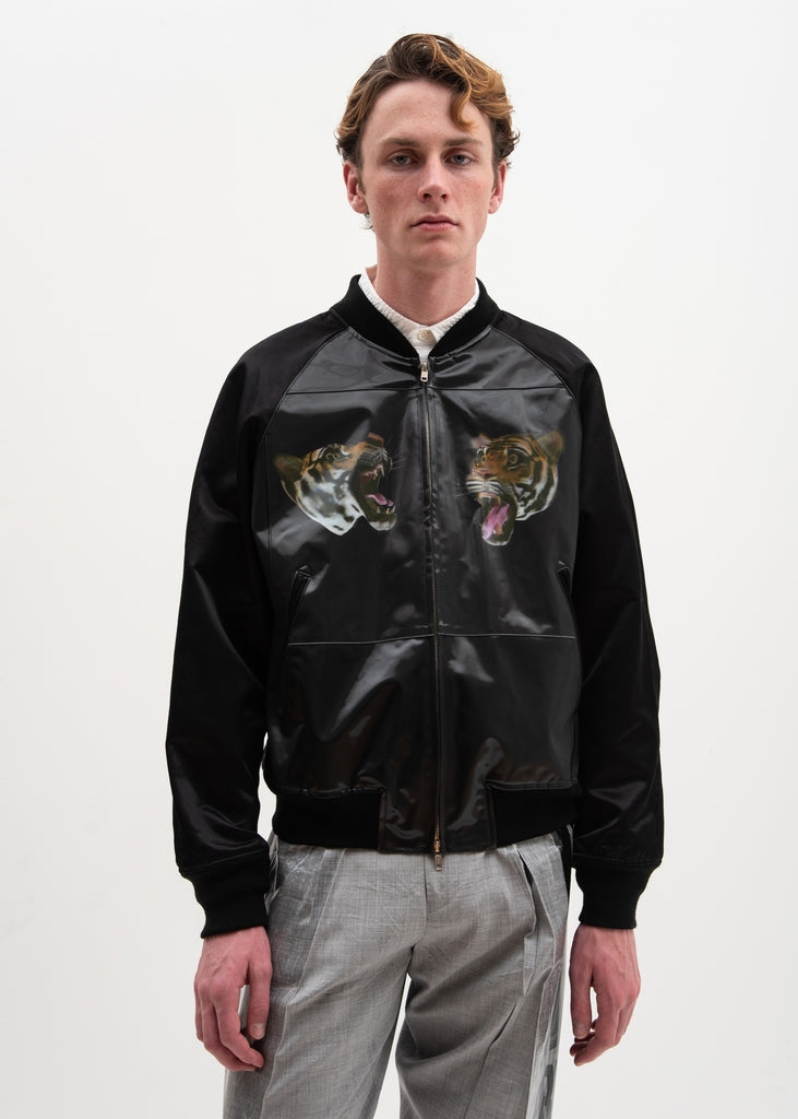 Doublet, Tiger 3D Printed Souvenir Jacket, 017 Shop