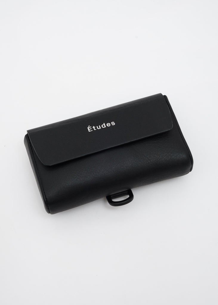 Etudes, Black January Leather Bag, 017 Shop