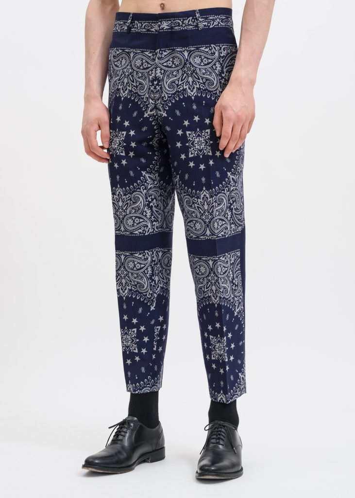 Blue Bandana Revolte Trousers