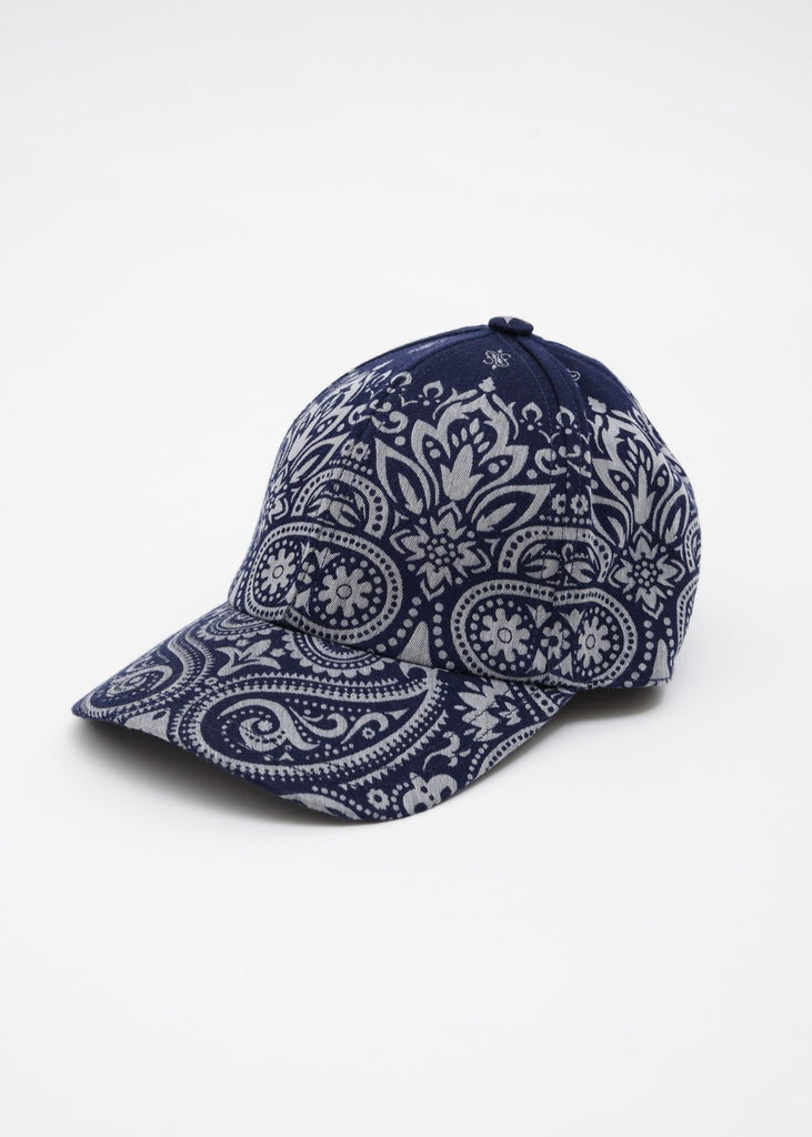 Etudes, Blue Cloud Bandana Cap, 017 Shop