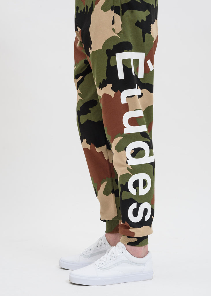 Etudes, Camo Tempera Sweatpants, 017 Shop