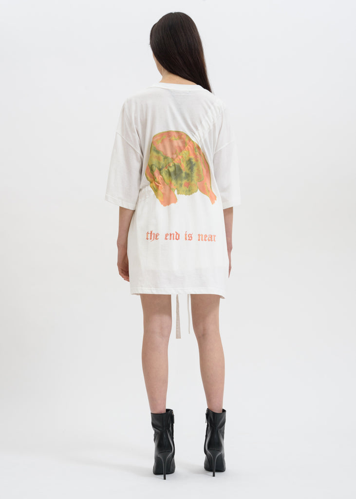 Hyein Seo, White Oversized T-Shirt w/ Bag, 017 Shop