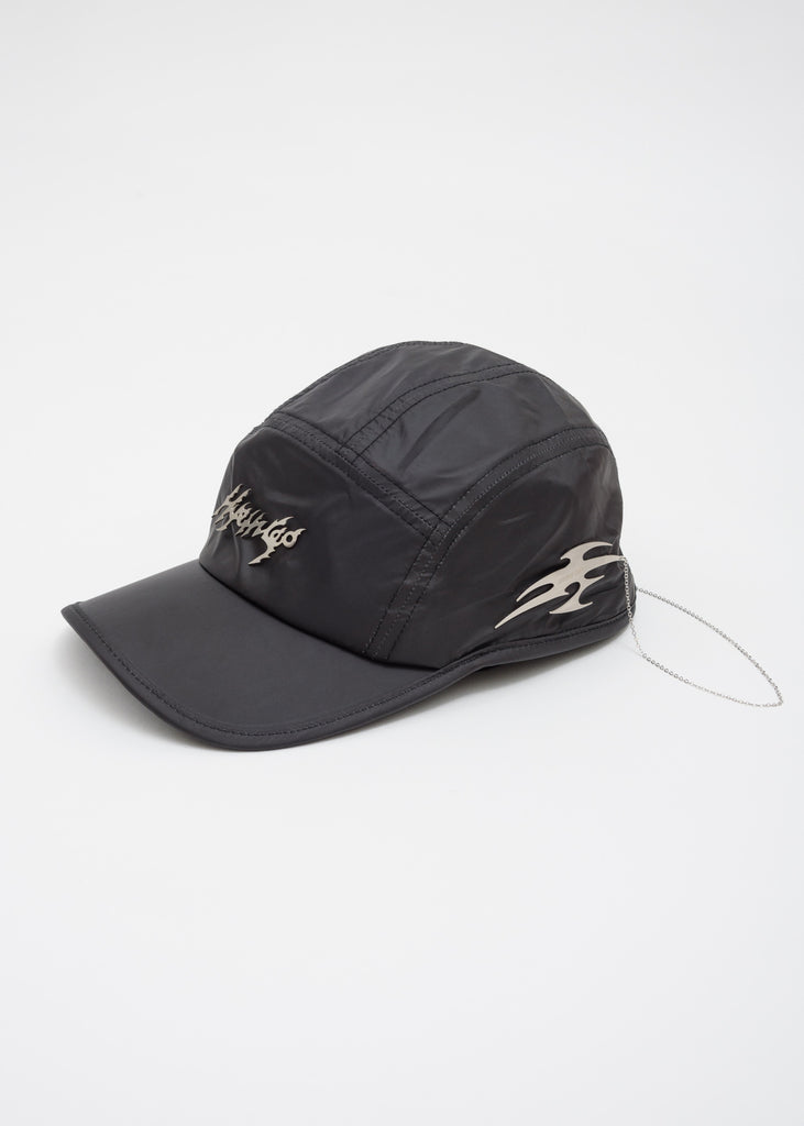 Black Metal Logo Cap