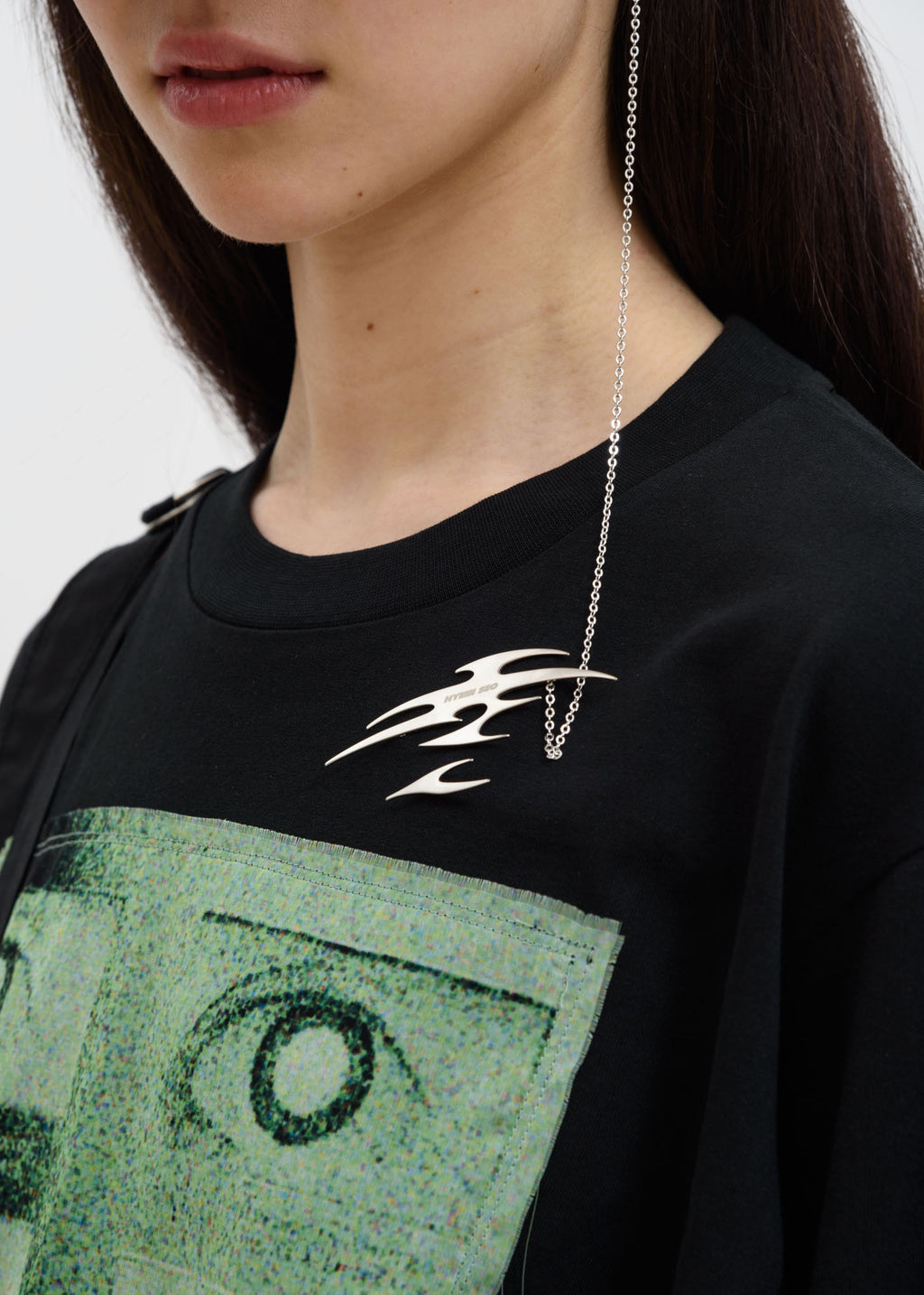 Hyein Seo, Metal Logo & Earring, 017 Shop