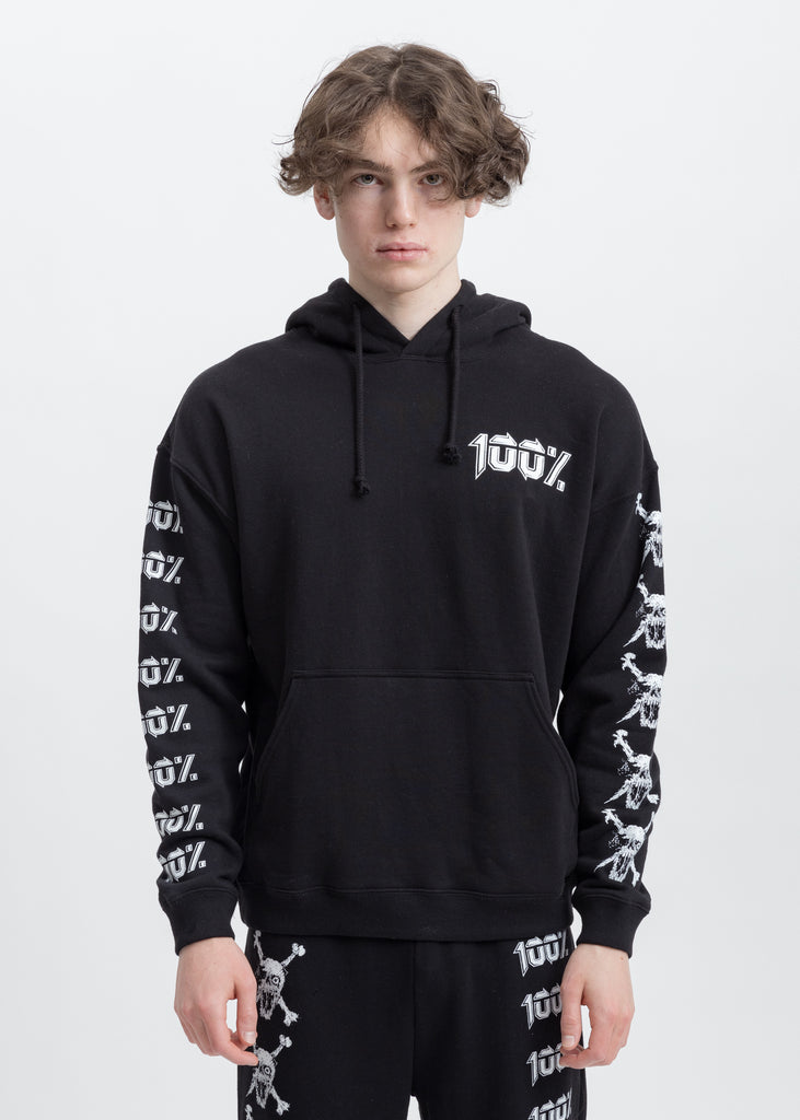 Black 100% Hoodies