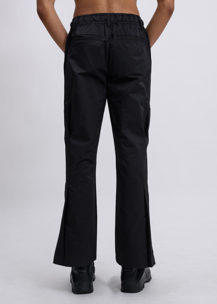 Black Fairshaped Panelled Track Pants